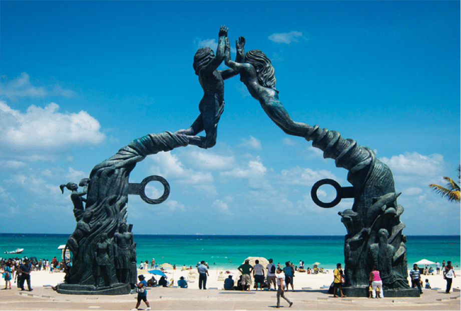 Top 3 romantic places in Playa del Carmen