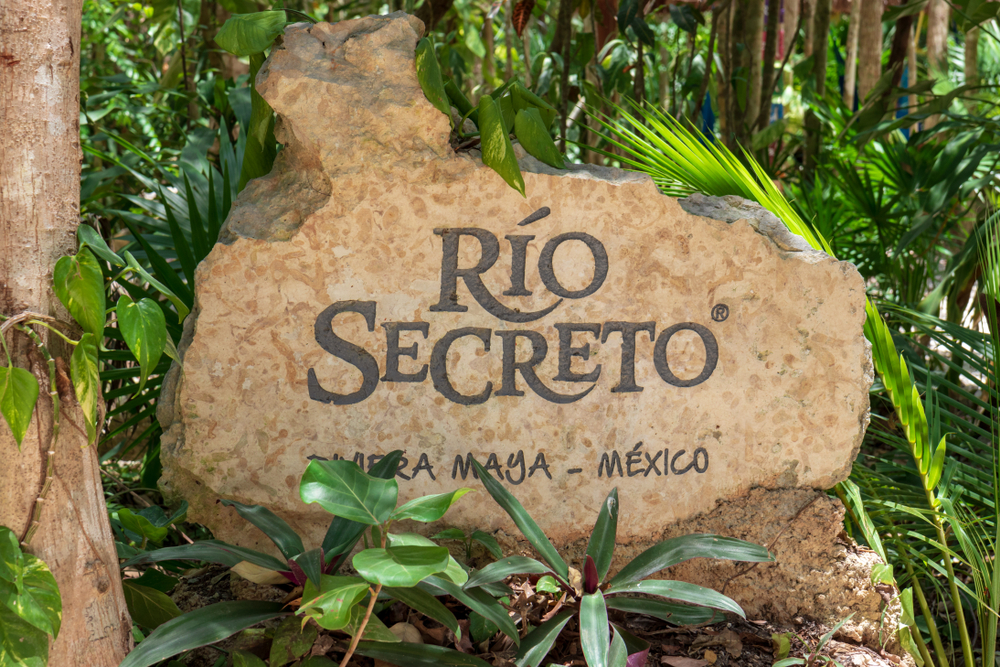 things to do in playa del carmen rio secreto